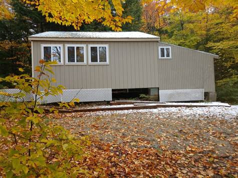 L155 Upper Mountain Pond Road, Amherst, Maine, For Sale by Scot Walker