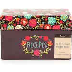 Darice Box Happy Day Floral Recipe Card
