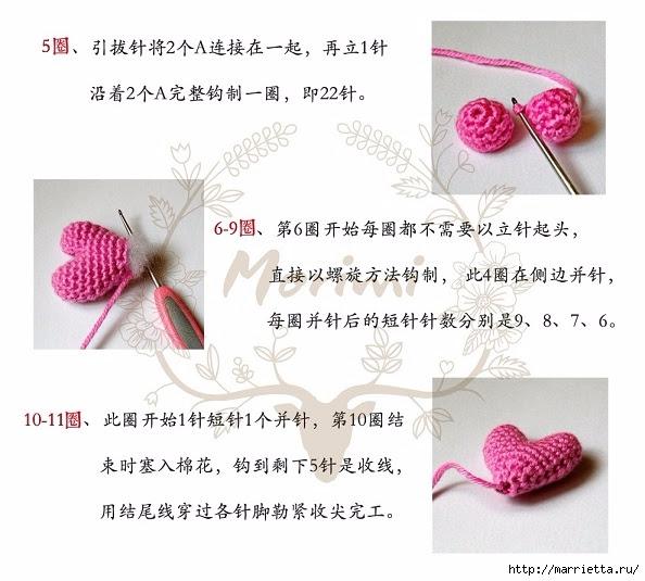 Knit crochet baby rezinochku for hair (10) (594x535, 169Kb)