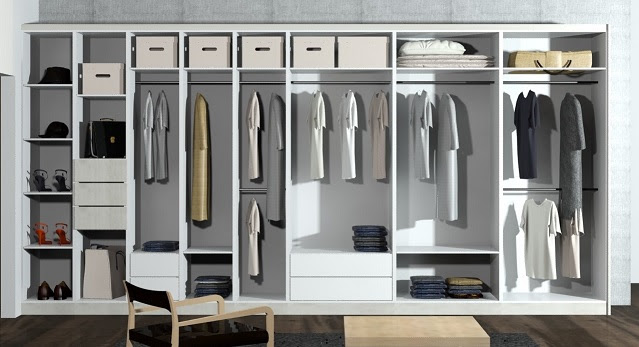 modular wardrobe design kitchen library 1