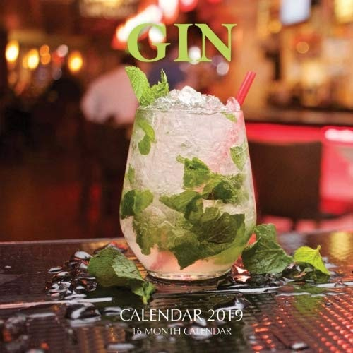 Download Gin Calendar 2019: 16 Month Calendar by Mason ...