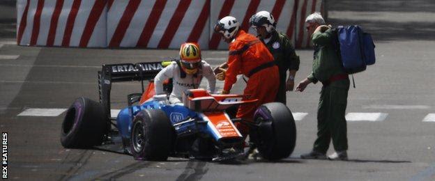 Manor F1 driver Rio Haryanto
