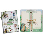 Lissom Design W29014 On the Green 2 Piece Mouse Notepad & Notecard Sets