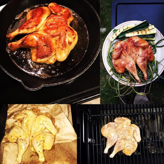 A delicious and juicy recipe for summer grilled chicken