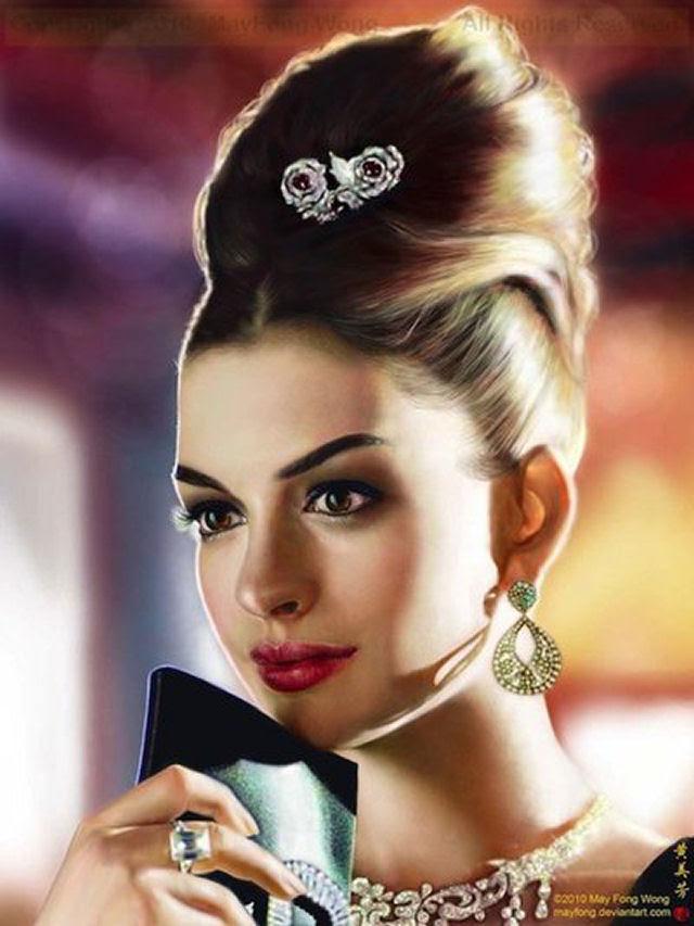 40 obras-primas da pintura digital de celebridades 19