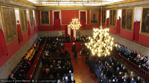 Doutoramento Honoris Causa de António Guterres na Sala dos Capelos da Universidade de Coimbra a 22 de maio de 2016