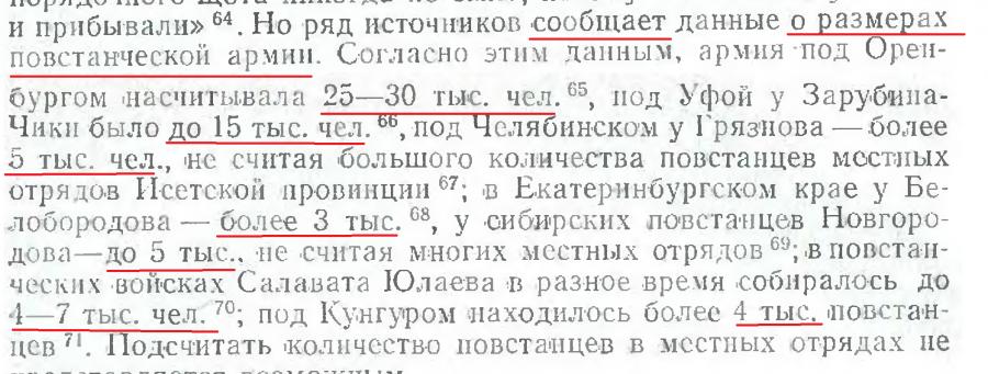 стр 71 размеры армии повстанцев