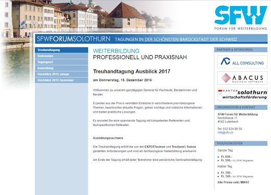 Revisionstagung am 27.09.2016 | Treuvision