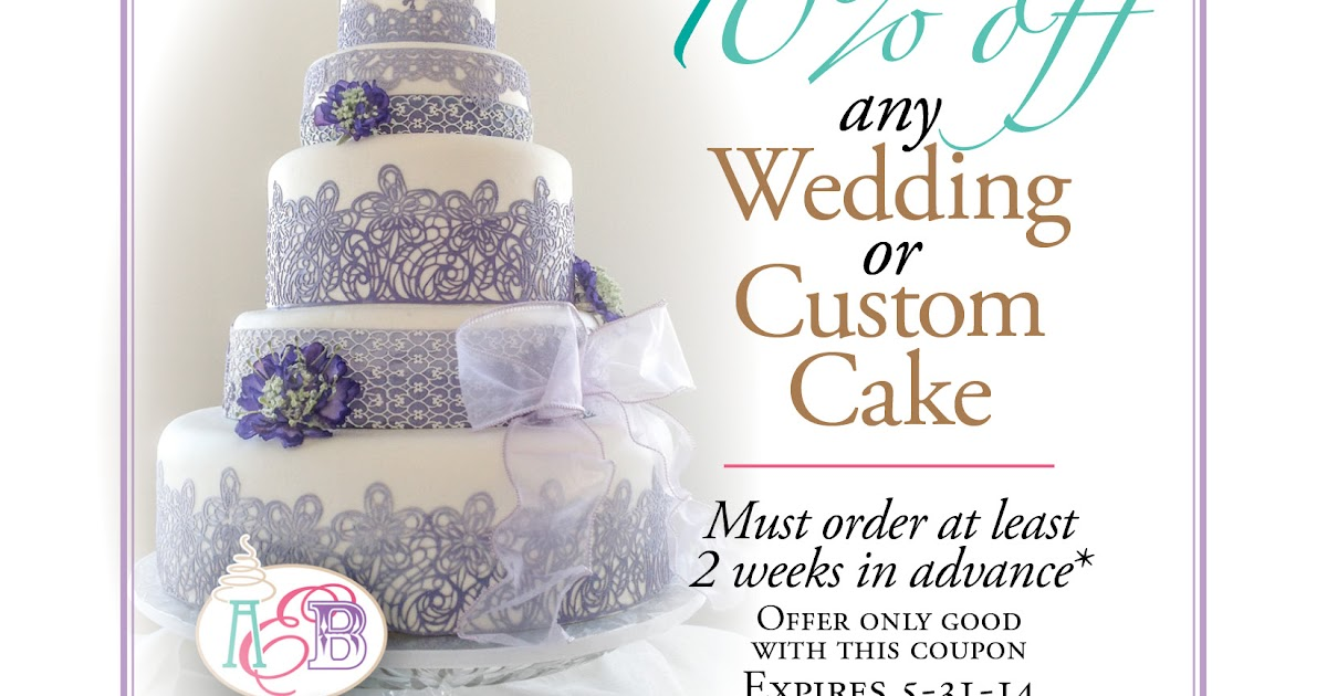 Coupon For Cake Art : Art Eats Bakery custom fondant wedding and birthday cake ...
