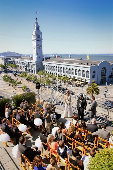 Hotel Vitale l San Francisco Wedding Venue l Best Wedding