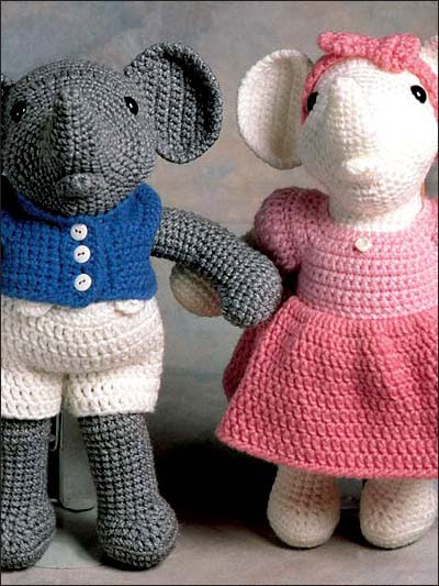 Reginald and Regina Elephant