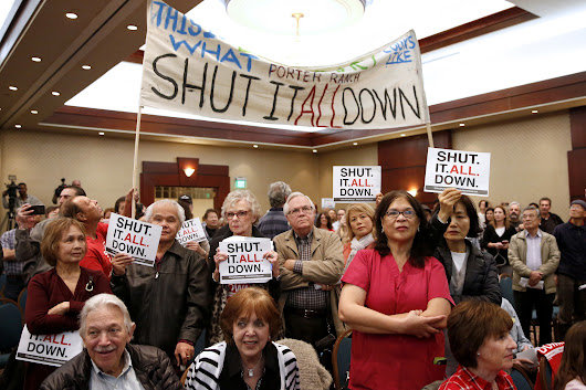 Residents demand Aliso Canyon be closed permanently