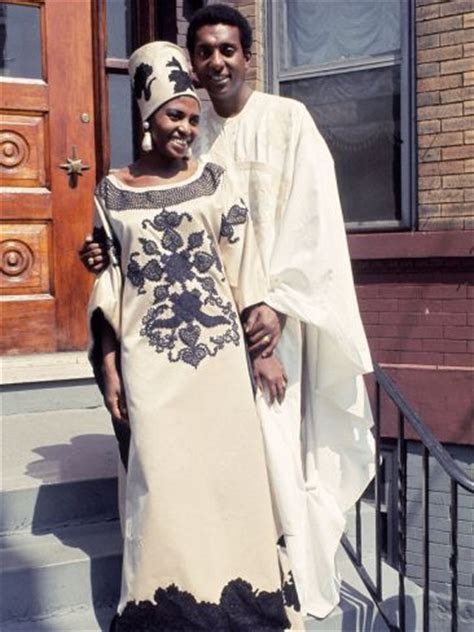 Famed South African Singer Miriam Makeba, with New Husband