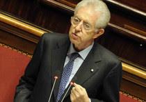 L'intervento di Mario Monti al Senato