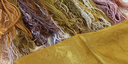 Nature's Palette - Substantive Dyes: YELLOW
