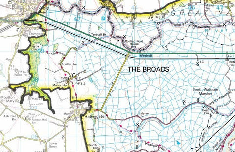 Happy Anniversary - The Broads – Map Logic