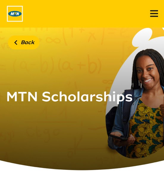 MTN Scholarships Eligibility and Procedure For Registering
