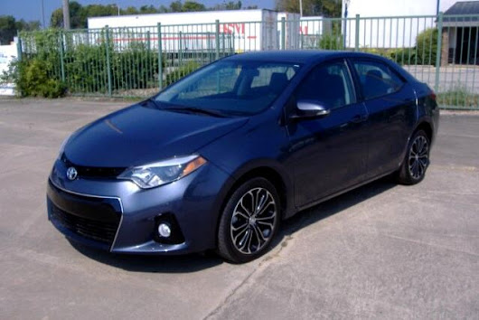 Used 2014 Toyota Corolla S Plus CVT for Sale in Fort Smith AR 72904 Hertz Car Sales
