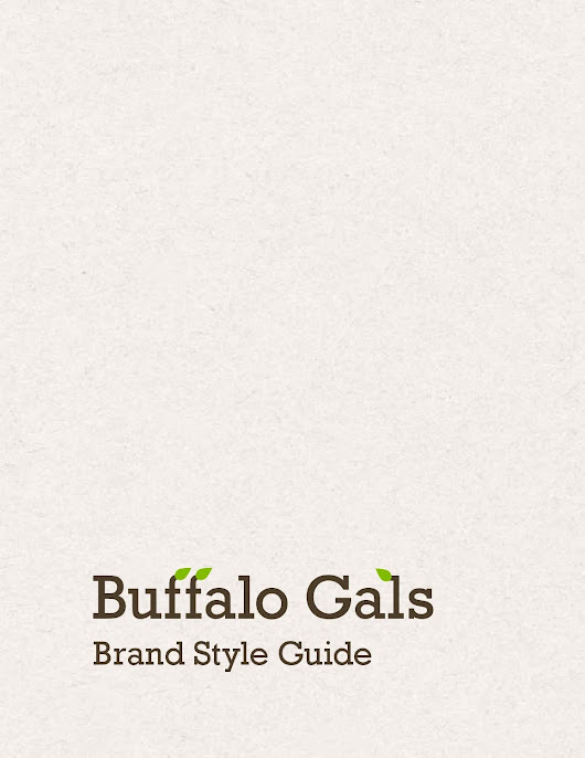 Buffalo Gals Style Guide