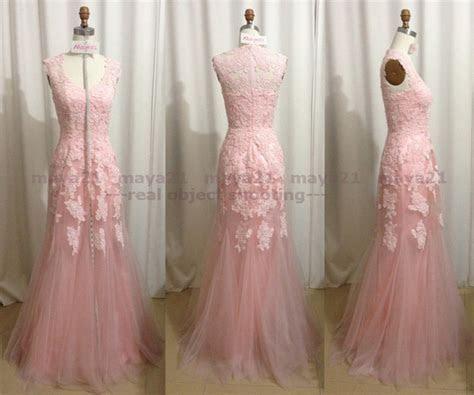 Discount Blush Pink Aline Wedding Dress Sleeveless