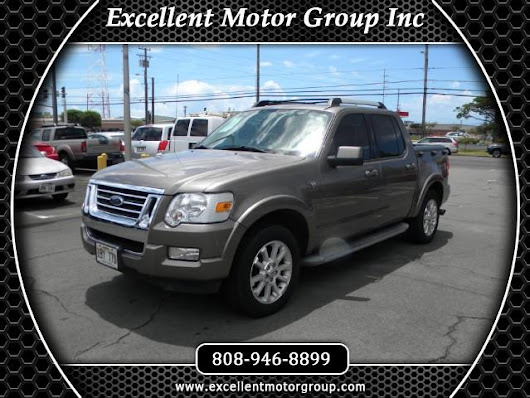 Used 2007 Ford Explorer Sport Trac Limited 4.6L 4WD for Sale in Honolulu HI 96817 Excellent Motor Group Inc