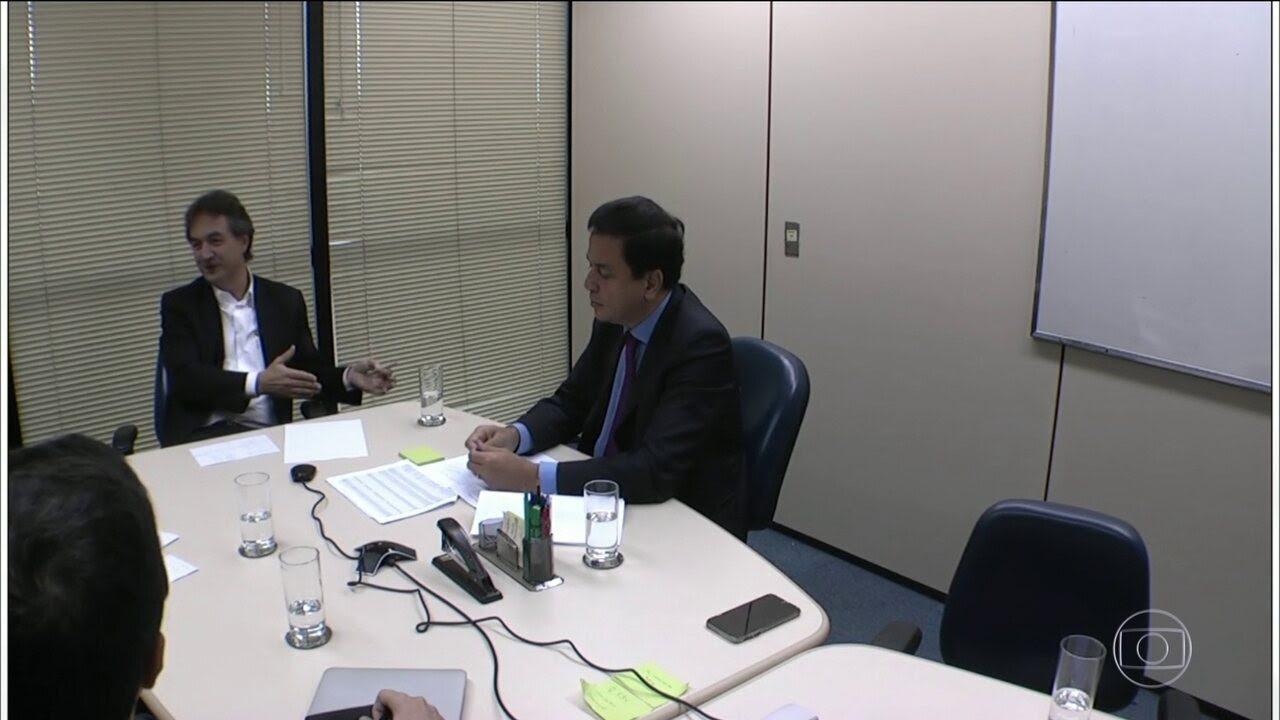 Joesley menciona um pagamento de R$ 5 milhões para saldar uma suposta dívida de Cunha