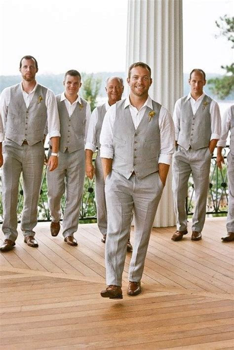 24 Men's Wedding Attire For Beach Celebration   WEDDING