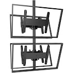 Chief Fusion - Medium Back-to-Back Stacked Ceiling Mount - Ceiling mount for 4 LCD / plasma panels