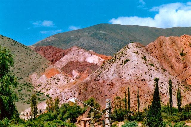 jujuy, argentina, valles calchaquies, purmamarca, cerro 7 colores, humahuaca