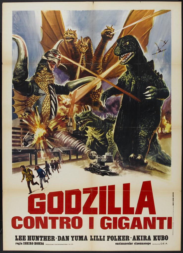 Godzilla vs. Gigan (Toho, 1972) Italian
