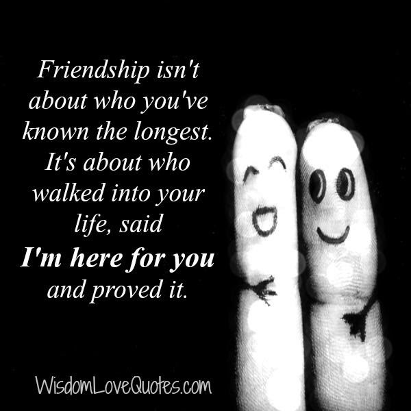 If You Have One True Friend Your Lucky Wisdom Love Quotes