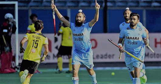 India vs Malaysia Hockey Match 2017 Sultan Azlan Shah Live Score, Live Streaming And News - Play Caper
