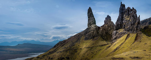 The Old Man Of Storr by Alex Saunders