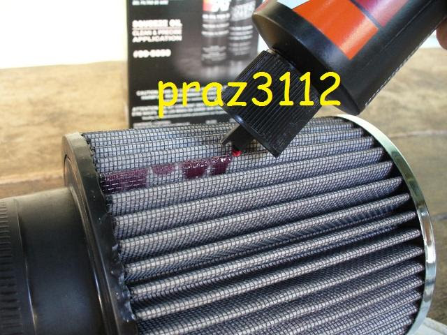 Bisa diterapkan untuk semua jenis filter K DIY K&N Air Filter Cleaning