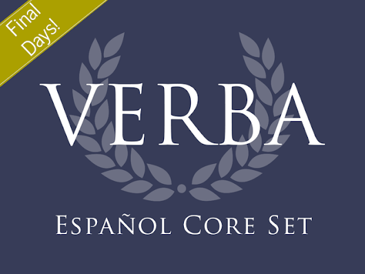 VERBA: Español - A Spanish Language Card Game by Kevin Ballestrini / The Pericles Group — Kickstarter