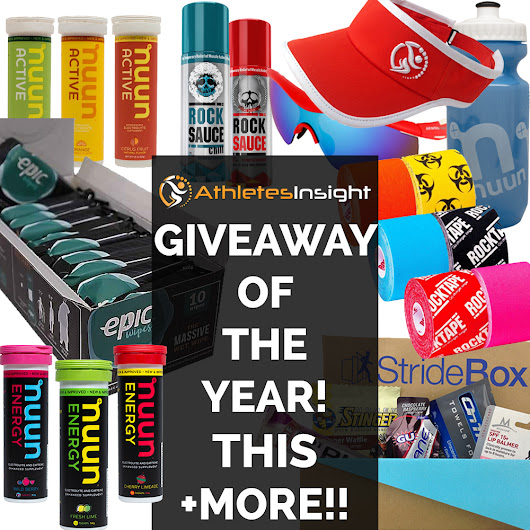 AthletesInsight's Best Running Products Giveaway [Our Biggest Giveaway of the YEAR!!]
