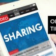 Online Video Sharing Tips for Physicians
