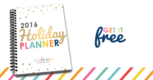 Get the 2016 LWSL Holiday Planner | FREE for a Limited Time