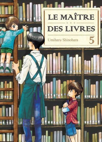Couverture Le maître des livres, tome 05