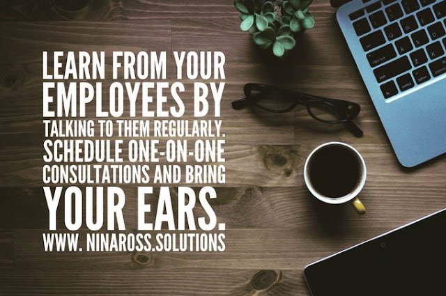 RT @ninarossbiz: Employees may sometimes know more about the inner workings of your business than you do. Schedule consultations with your employees as part of your overall HR process. #ninarossbusiness #businessoperations #operationsmanagement #hrondemand #businessmanagement https://t.co/zgHJyo6iy6