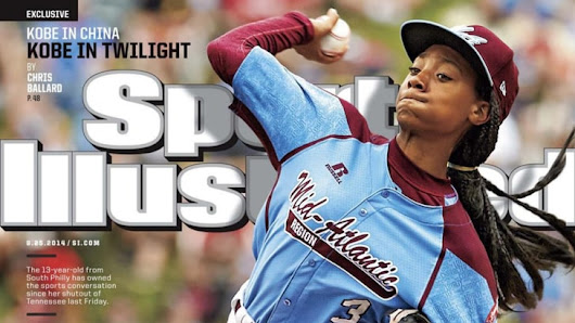 Little League pitcher Mo'ne Davis makes cover of Sports Illustrated