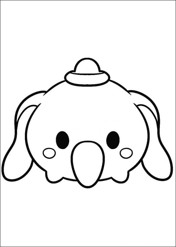 Tsum Tsum Coloring Pages Printable At Getdrawingscom Free For