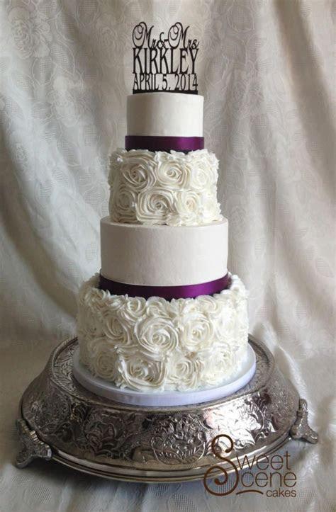 25  best ideas about Rosette Wedding Cakes on Pinterest