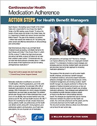 Medication Adherence: Action Steps for Health Benefit Managers