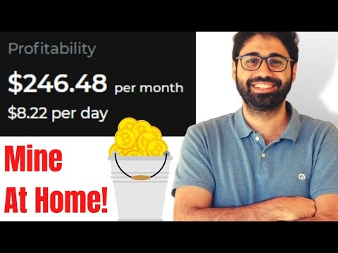 The Easiest Way To Mine Cryptocurrency At Home | Test It Right Now!