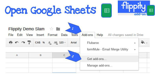 Flippity Add-On for Google Sheets | Mrs. Geek Chic