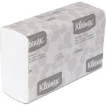 Kleenex 01890 Multi-Fold Paper Towels 9 1/5 x 9 2/5 White 150/Pack 16 Packs/Carton
