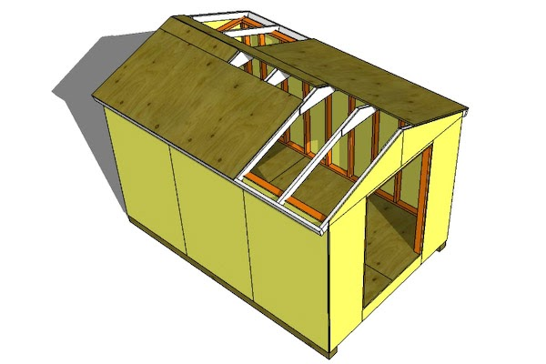 Easy to shed designs 8x8 dioepa for 8x8 house plans