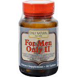 Only Natural For Men Only II, Tablets - 30 tablets