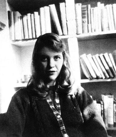 Sylvia Plath. Foto: DP.